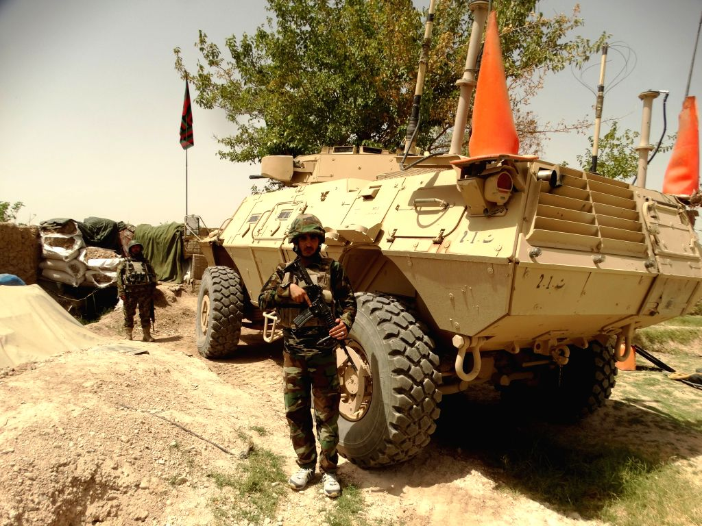 HELMAND, July 18, 2016 - Soldiers take part in a military operation in Nad Ali district of Helmand province, Afghanistan, July 18, 2016. Afghan security forces have obviously adopted an aggressive ...