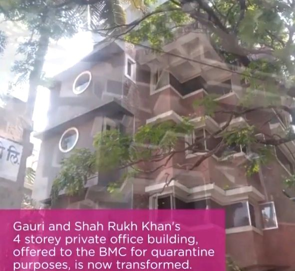 Here's how SRK-Gauri's office turned into quarantine facility.