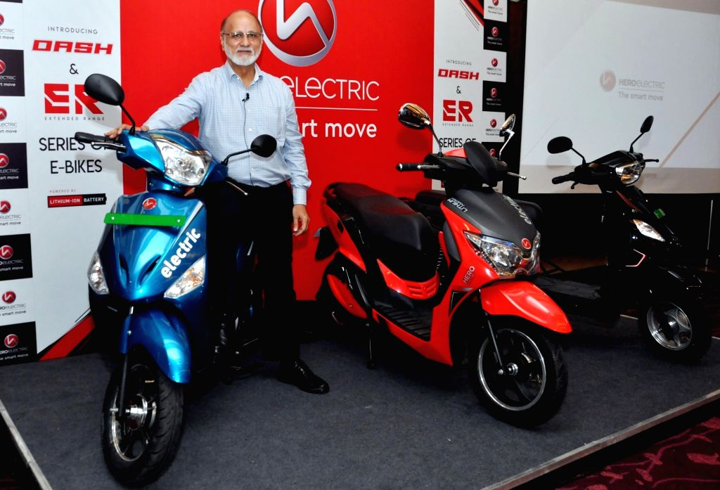 Hero Electric India CEO Sohinder Gill at the launch of new range of e-Bikes in Kolkata on Sep 23, 2019.