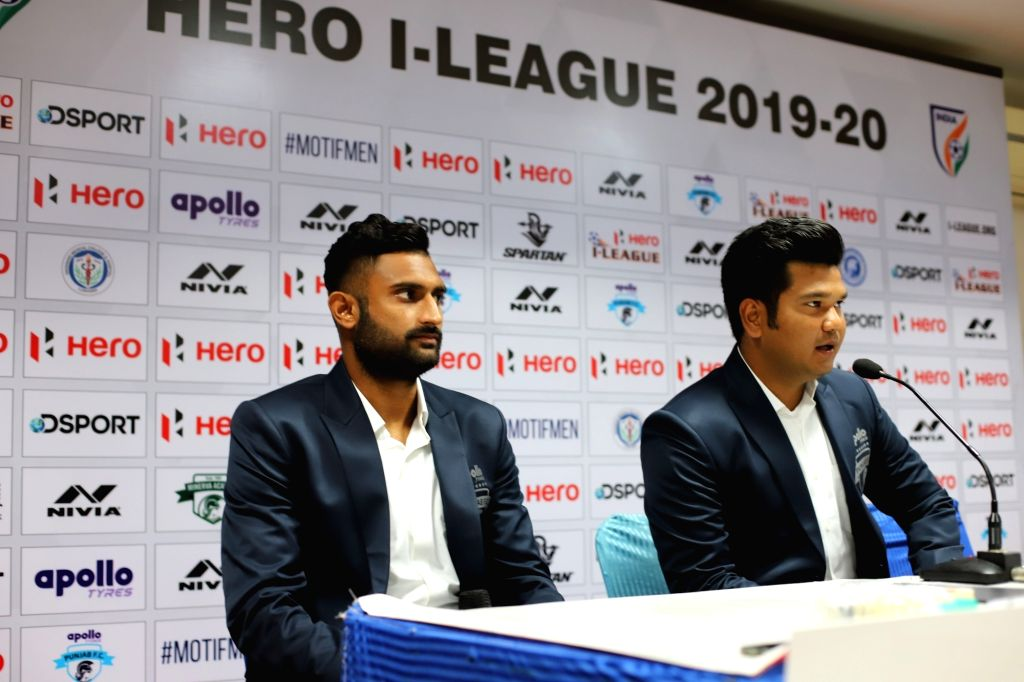 Hero I-League 2019-20 - Punjab FC Vs Quess East Bengal - Pre-match press conference underway.