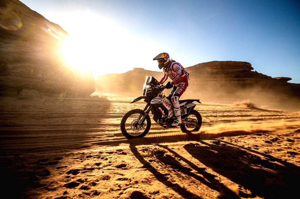 Hero MotoSports Team Rally Rider CS Santosh.