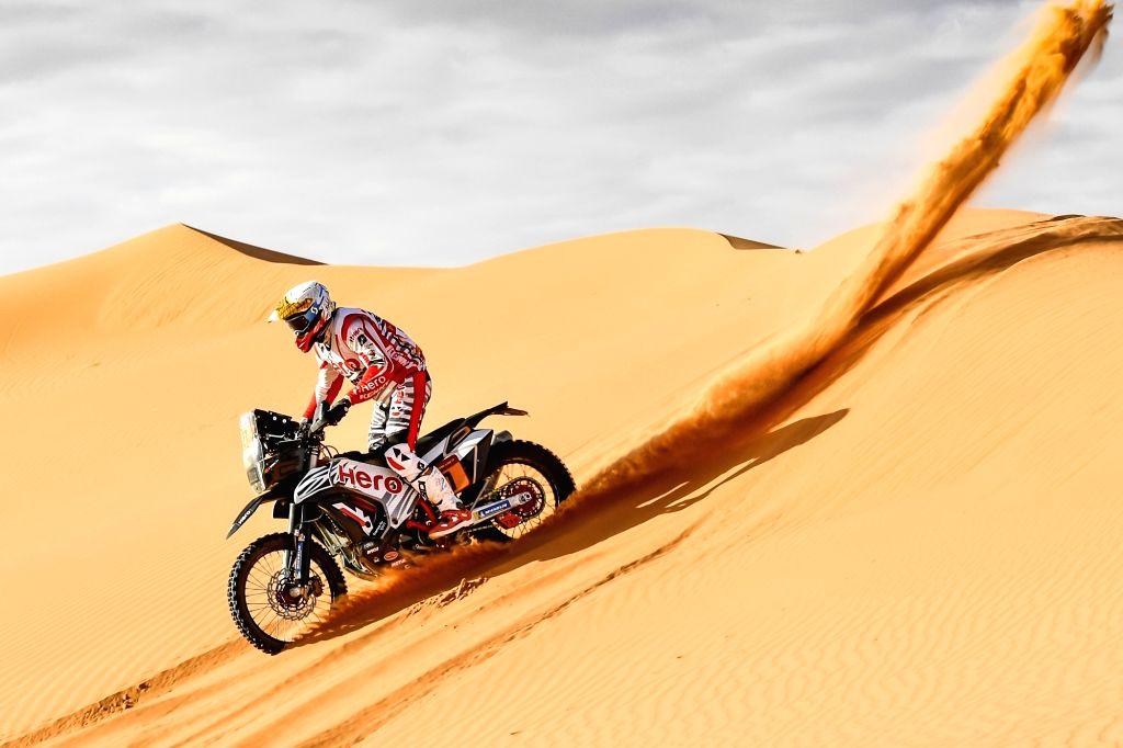 Hero MotoSports Team Rally Rider Joaquim Rodrigues.