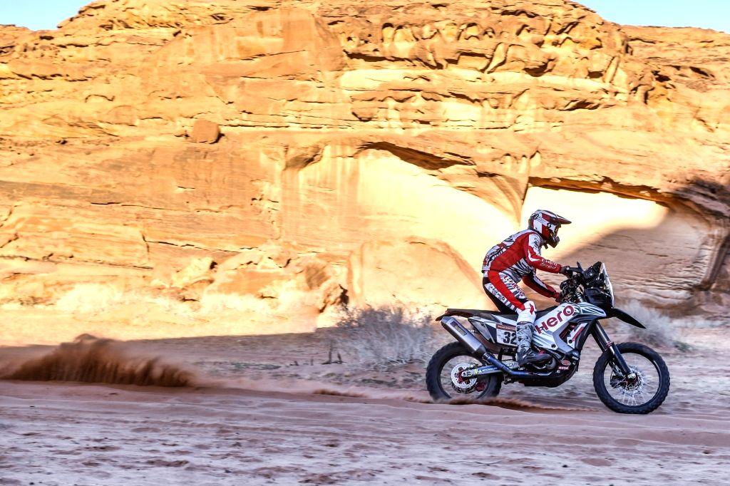 Hero MotoSports Team Rally Rider Sebastian Buhler.