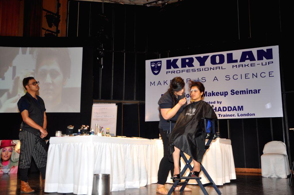 Hi Defintition Makeup Seminar by Tara Moghaddam, Kryolan