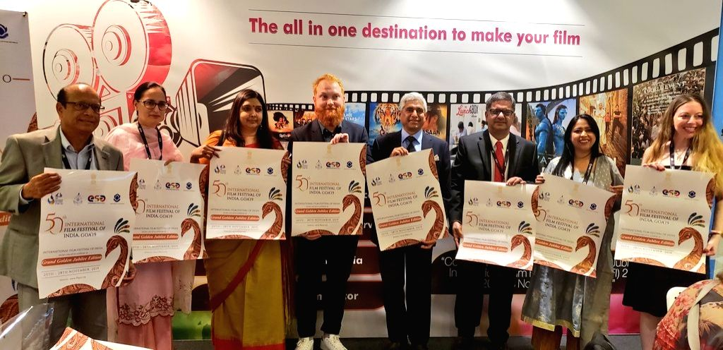 High Commissioner of India to Canada, Vikas Swarup at the inauguration of the India Pavilion at the 44th Toronto International Film Festival (TIFF) in Toronto, on Sep 5, 2019. The pavilion ...