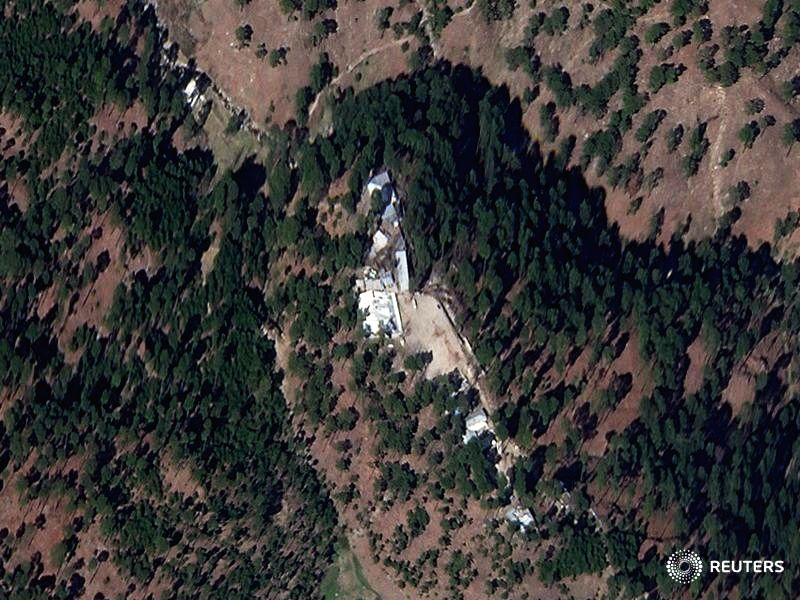 High-resolution satellite images show madrasa buildings in northeastern Pakistan still standing days after India claimed its warplanes had hit the site and killed a large number of militants ...