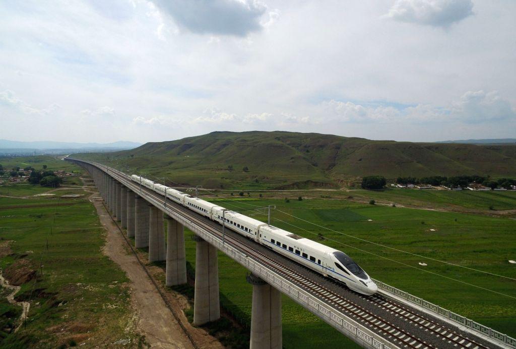 high speed rail. (Xinhua/Wang Zheng/IANS)