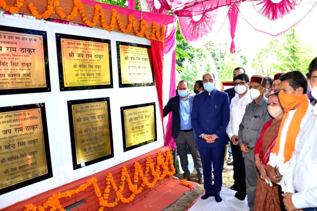 Himachal Pradesh Chief Minister Jai Ram Thakur today inaugurated and laid foundation stones of developmental projects worth Rs. 64 crore for Manali area of Kullu district during his one day tour to ... - Jai Ram Thakur