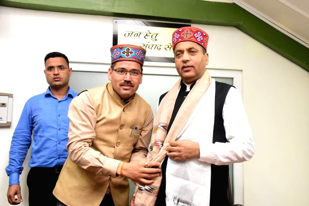 Himachal Pradesh Chief Minister Jai Ram Thakur at the inauguration of College of Horticulture and Centre of Excellence for Horticulture Research and Extension at Thunag in Mandi district on ... - Jai Ram Thakur