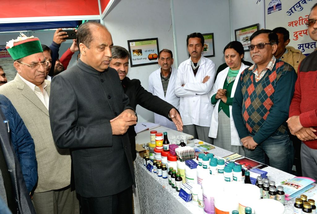 Himachal Pradesh Chief Minister Jai Ram Thakur at the launch of a special campaign on 'Prevention of Drug Abuse and Alcoholism' in Shimla on Nov 15, 2019. - Jai Ram Thakur