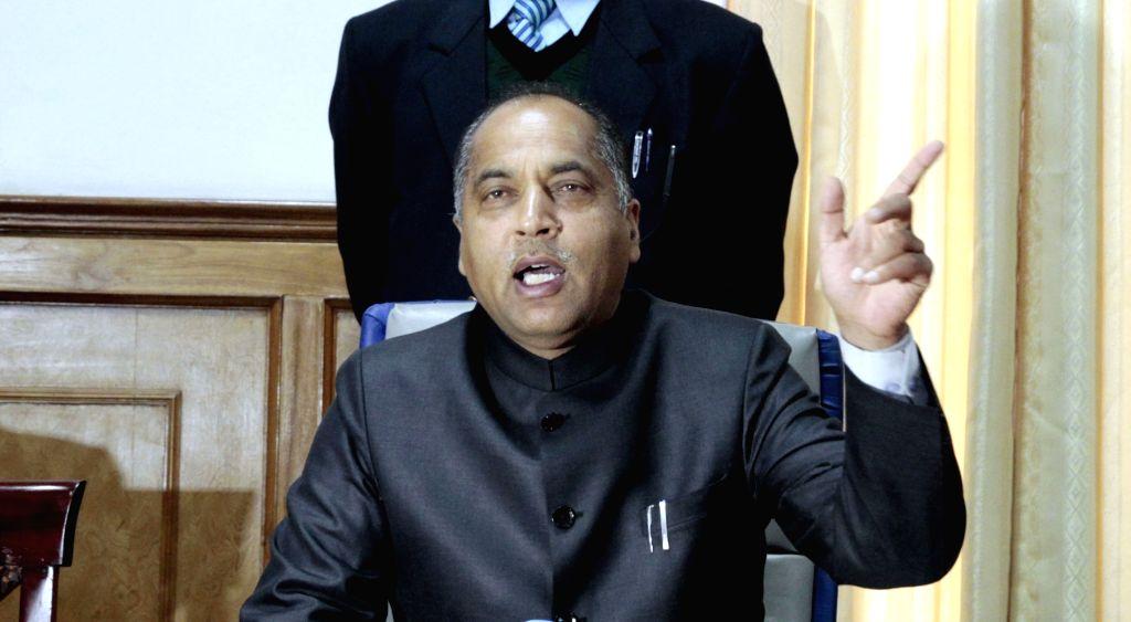 Himachal Pradesh Chief Minister Jai Ram Thakur. (File Photo: IANS) - Jai Ram Thakur