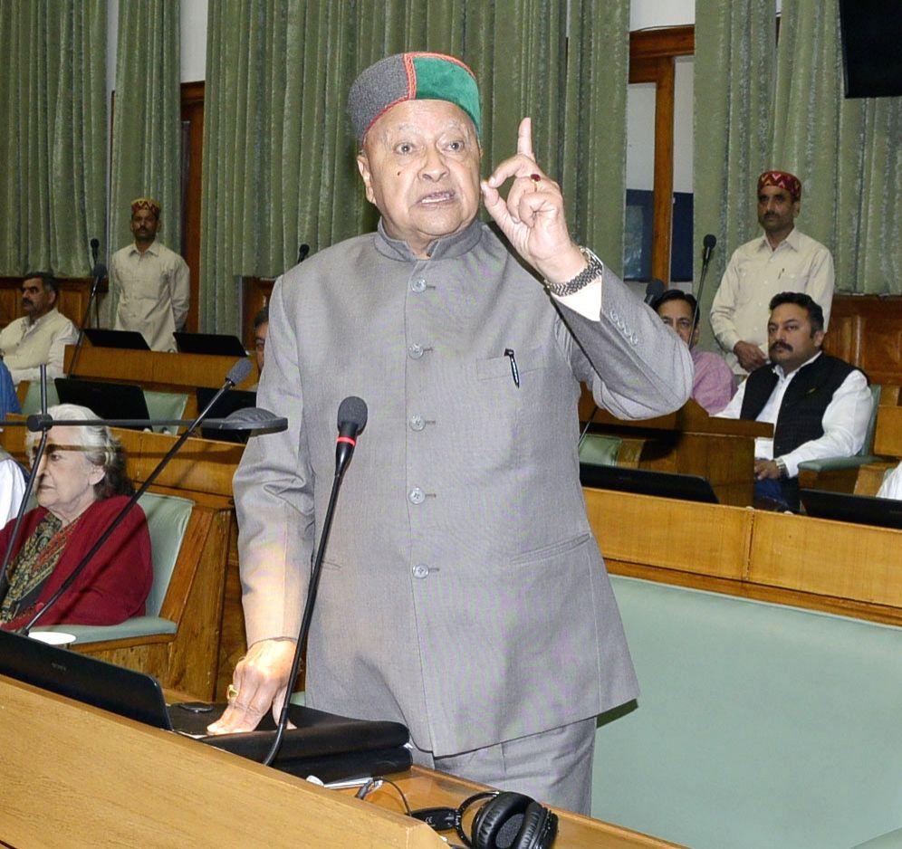 Himachal Pradesh Chief Minister Virbhadra Singh. (File Photo: IANS) - Virbhadra Singh