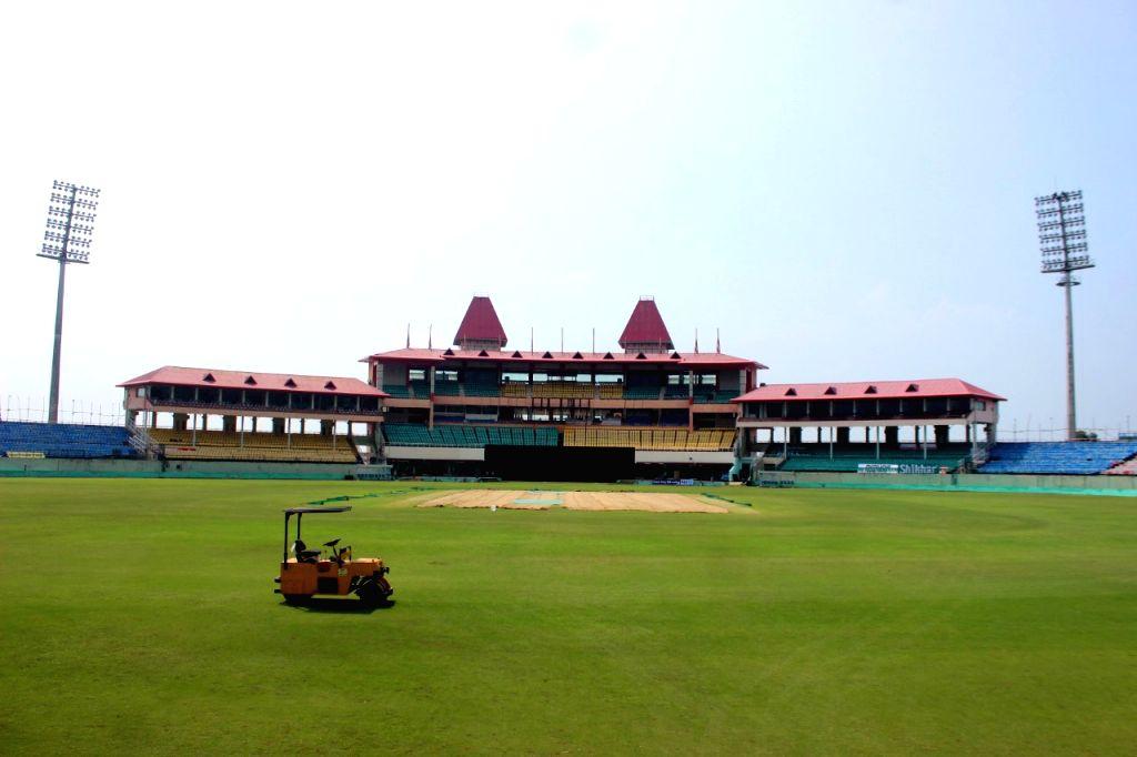 Himachal Pradesh Cricket Association Stadium (HPCA) in Dharamshala. (File Photo: IANS)