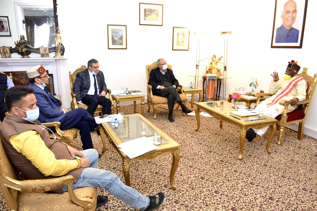 Himachal Pradesh Governor Bandaru Dattatraya today held a high powered review meeting regarding the status of essential services concerning various departments in the wake of COVID-19 in the ...