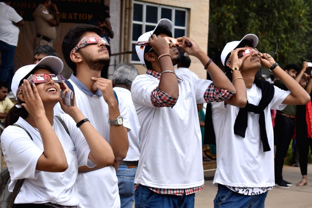 Himachal Pradesh is popularising the solar eclipse by arranging its viewing in the state capital on June 21, an official said on Friday. (Photo: IANS)