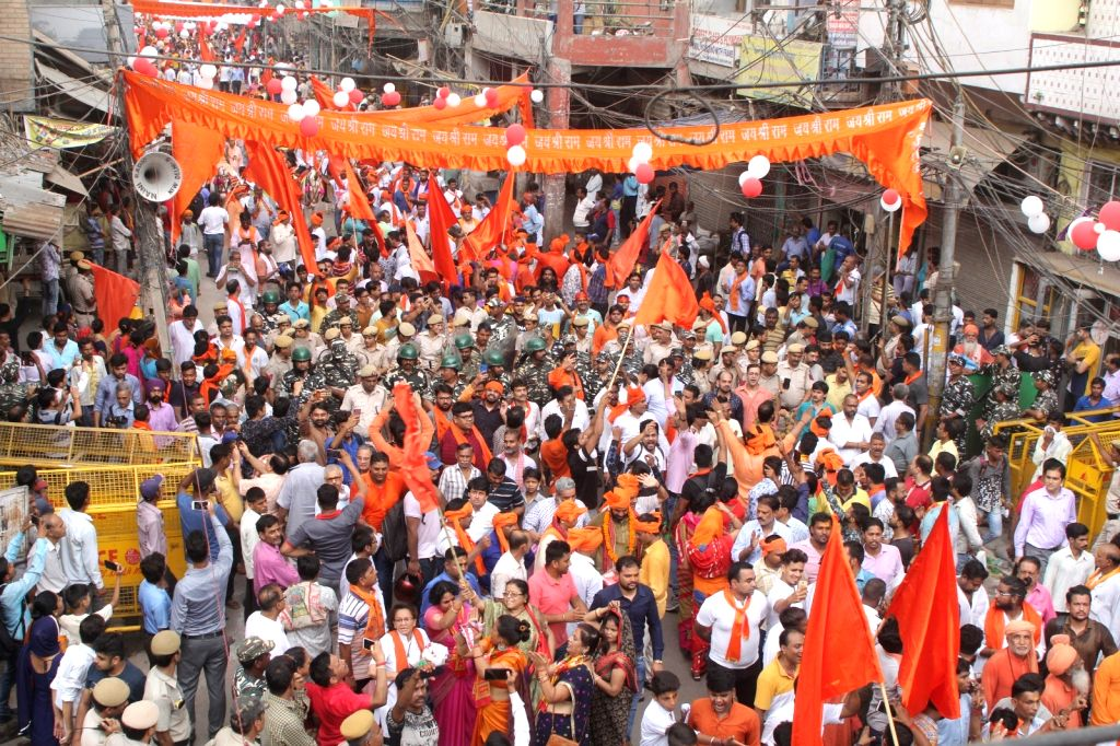Hindu outfits seek Constitutional amendments for equal rights to majority. (Photo: IANS)