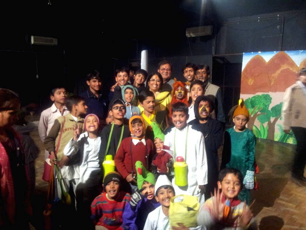 HIV-affected kids stage a play in Jaipur picture