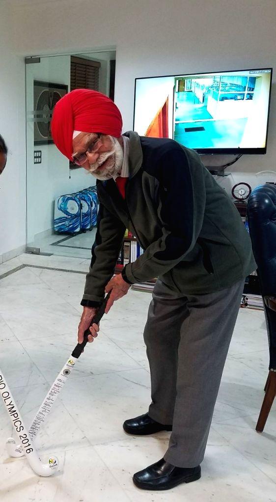 Hockey legendary player Balbir Singh Sr. (File Photo: IANS) - Balbir Singh S