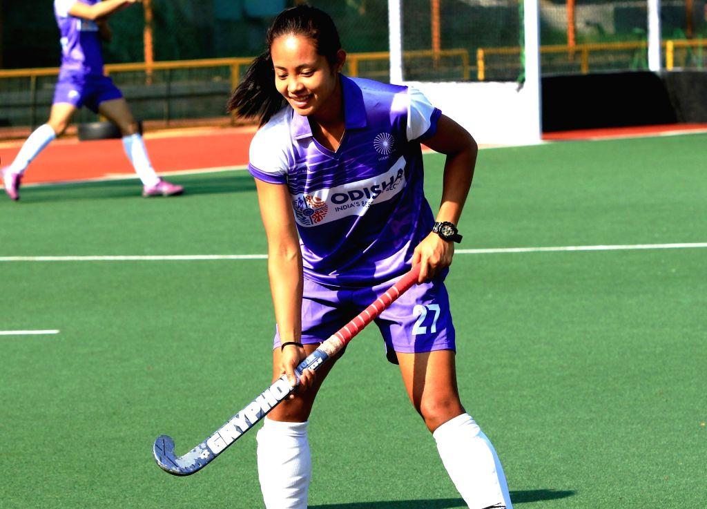 Hockey player Sushila Chanu Pukhrambam. (File Photo: IANS)
