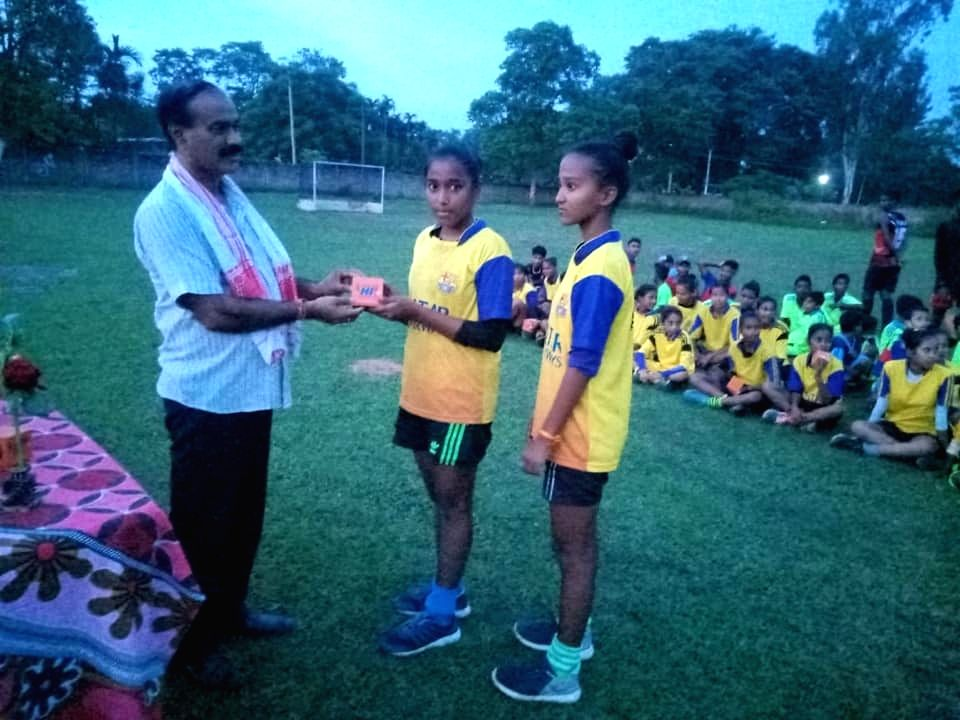 Hockey players resume sports activities in Assam, Manipur