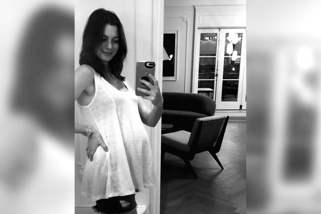Hollywood star Anne Hathaway has announced her second pregnancy and said has also opened up about going through infertility. The Academy Award winning actress on Wednesday took to Instagram to share a black and white photograph of herself and her blo