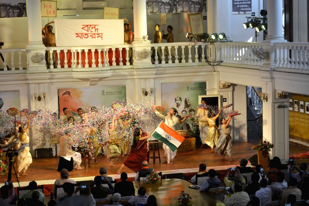 Home Minister Amit Shah during the inauguration of the Shauryanjali program-a tribute to the martyrs of the Bengal at National Library in Kolkata on Friday 19th February 2021. - Amit Shah