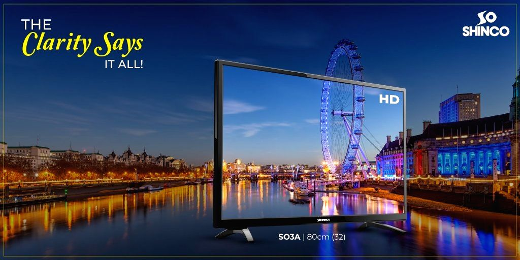 Homegrown brand Shinco TV on Monday unveiled a new smart TV with in-built Alexa that will be available on Amazon from January 19.