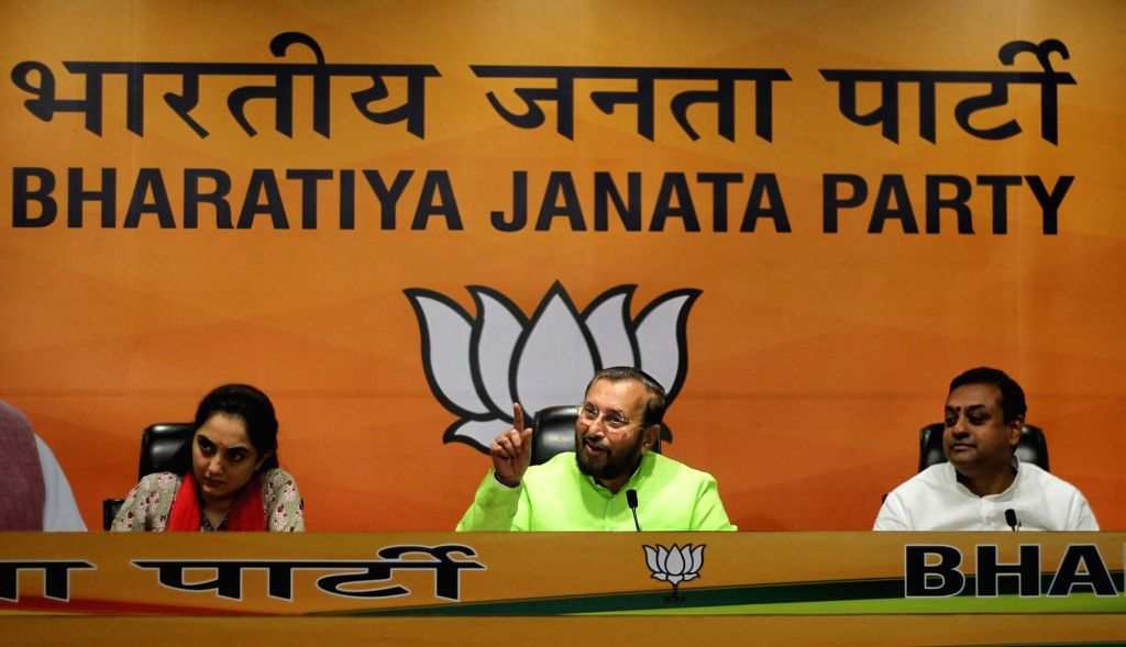 Hon'ble Union Minister, Prakash Javadekar will address a press conference at BJP HQ, DDU Marg, in New Delhi on Wednesday, 03rd March, 2021.