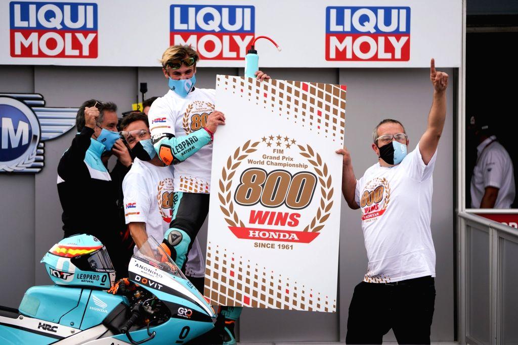 Honda Achieves 800th FIM World Championship Grand Prix Victory.