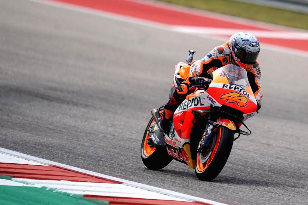 Honda's Marc Marquez wins Grand Prix of the America.