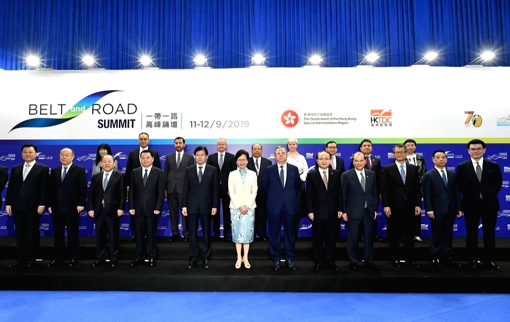 Hong Kong - Fourth Belt and Road Summit Forum Held.