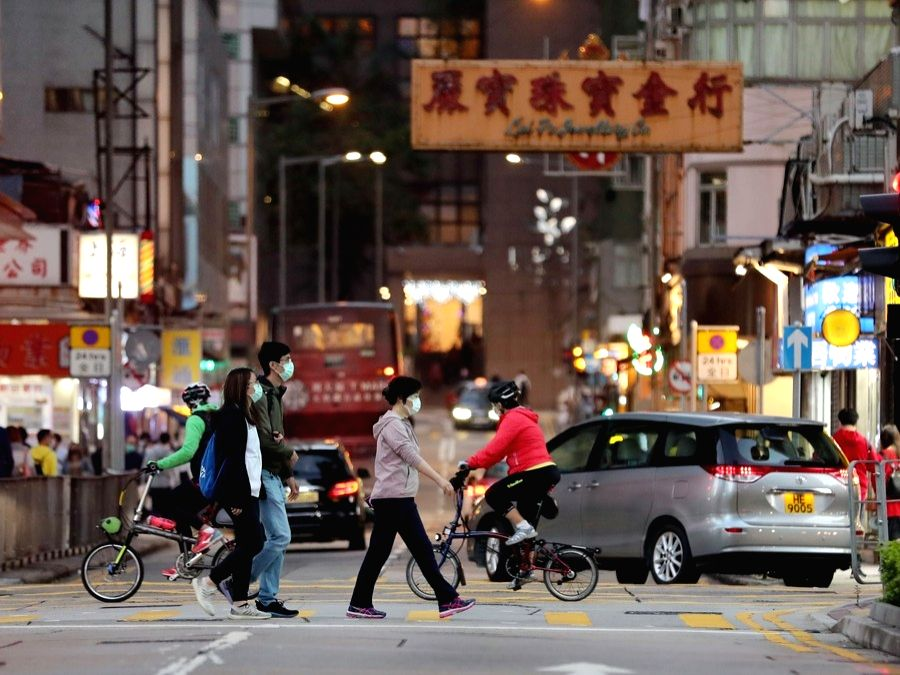 Hong Kong's unemployment rate hits 16-yr high