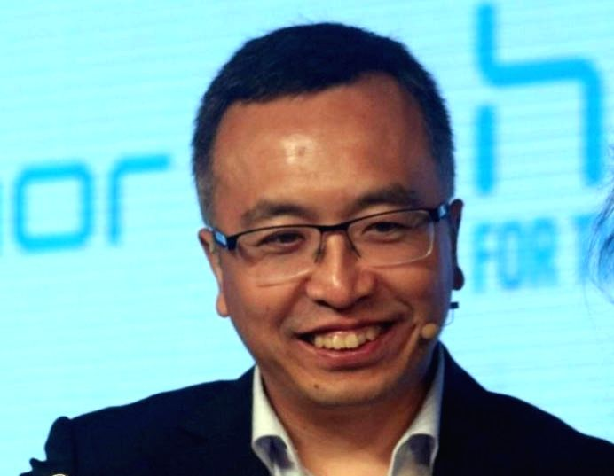 Honor Mobiles president George Zhao. (File Photo: IANS)