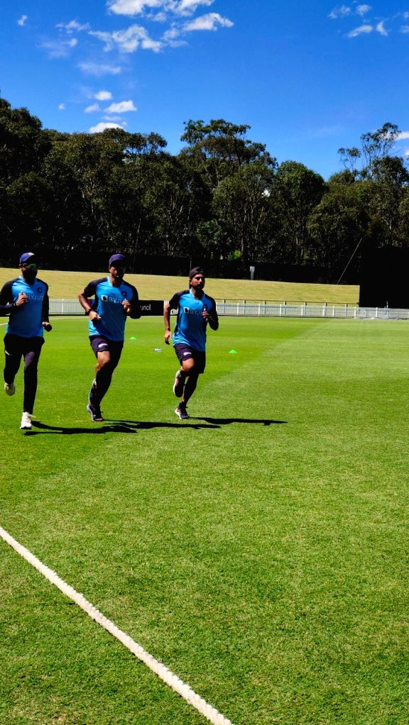 Horses for courses for India during fielding practice in Sydney.