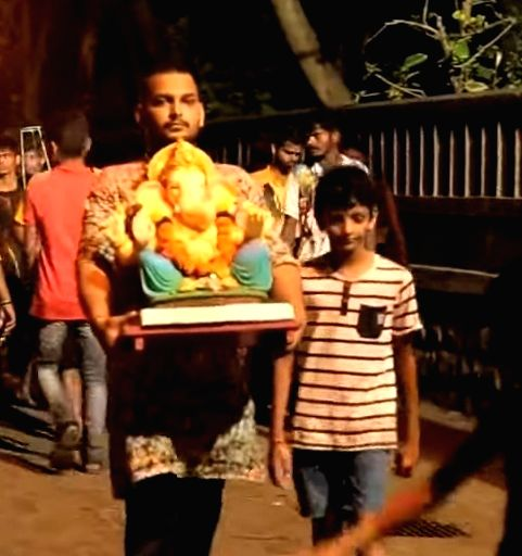 """Host-actor Paritosh Tripathi, popular as TRP Mama, has made his debut in Hindi short films with """"Bappa Morya"""", which is on how to celebrate eco-friendly Ganesh Chaturthi. - Paritosh Tripathi"""