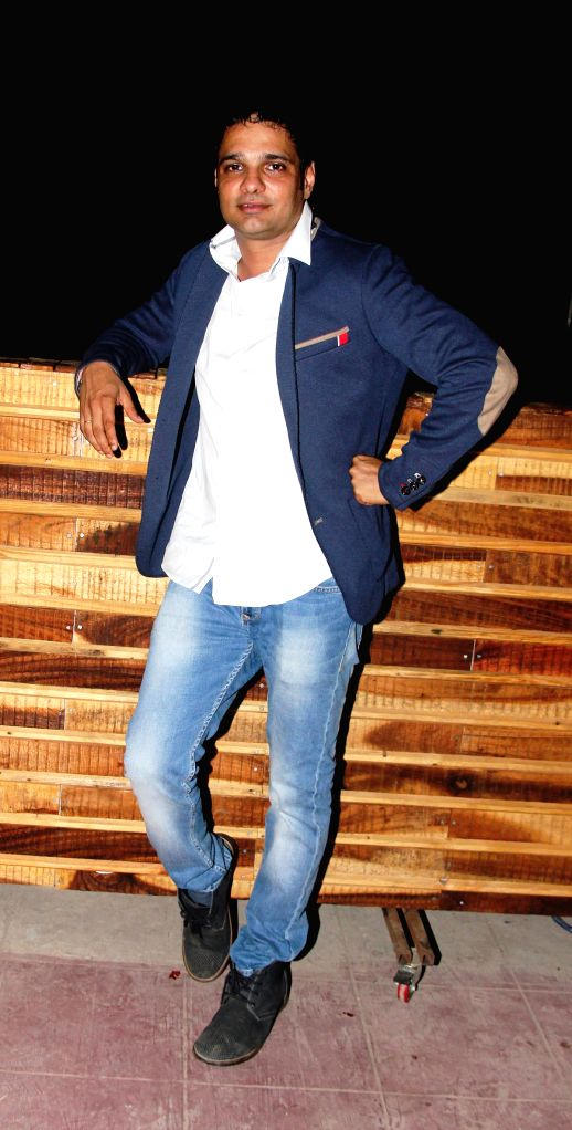 Host Harpreet Singh Ahluwalia, the owner of Rude Lounge during the launch of Rude Lounge`s Powai branch opening in Mumbai on June 14, 2014. - Harpreet Singh Ahluwalia