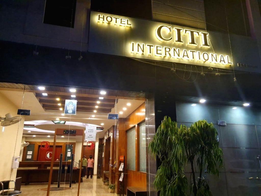 Hotel CITI International, Karol Bagh to be linked with hospital. Photo - IANS.