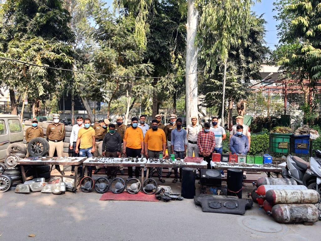 How a farmhouse in Delhi turned 'graveyard' for stolen cars