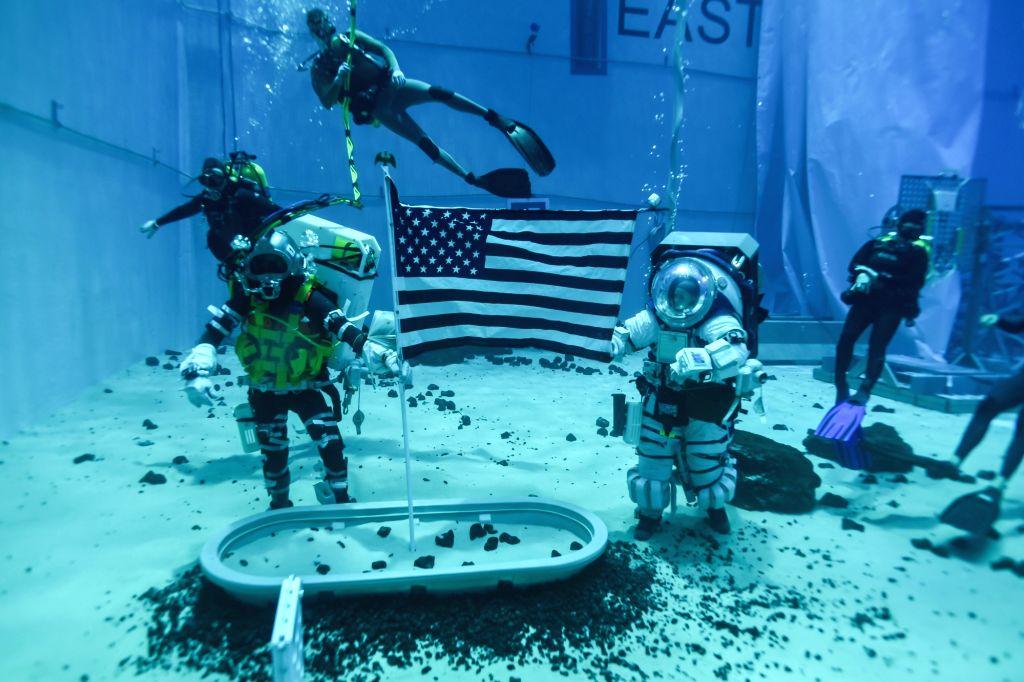How NASA is preparing astronauts for next moonwalks.