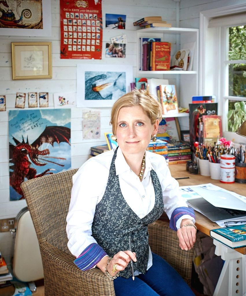 'How To Train Your Dragon' author Cressida Cowell says reality shaped her fantasy.