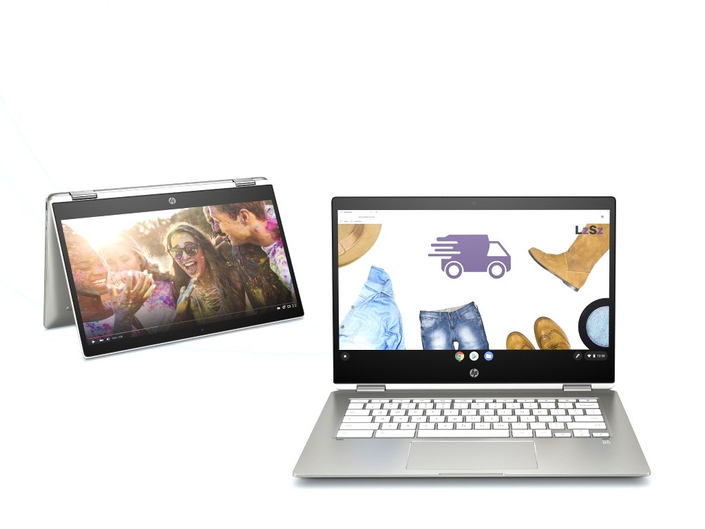 HP Chromebook x360.