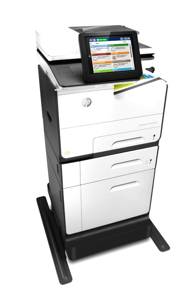 HP Inc launched 15 new PageWide (seen in the photo), OfficeJet Pro and LaserJet printers and new Secure Managed Print Services. (Photo: IANS)