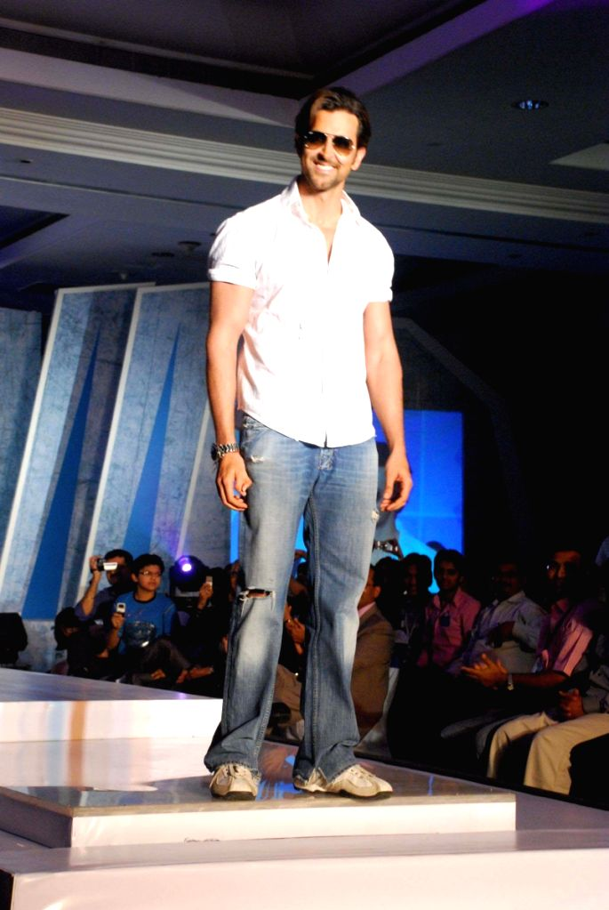 Hrithik Roshan at the launch of Macorman men's innerwear.