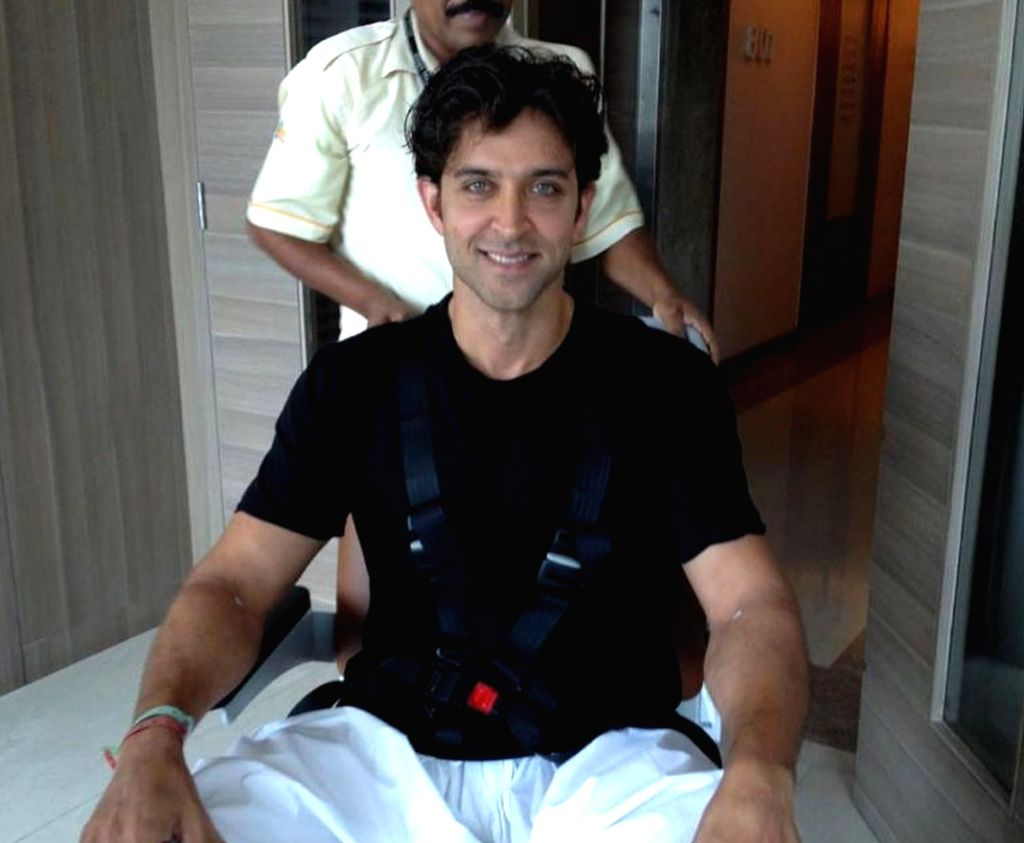 Hrithik's mom shares actor's pics from his brain surgery on his 46th birthday.