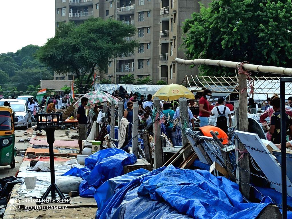 HSVP demolished Banjara Market.