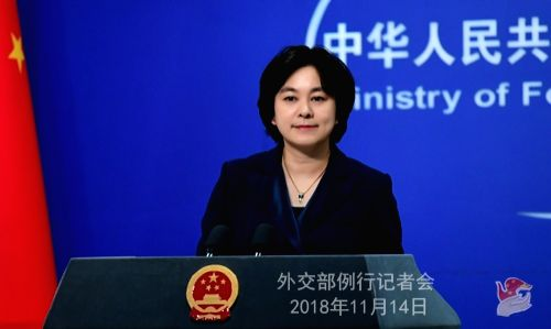 Hua Chunying. (Photo: MFA,China)