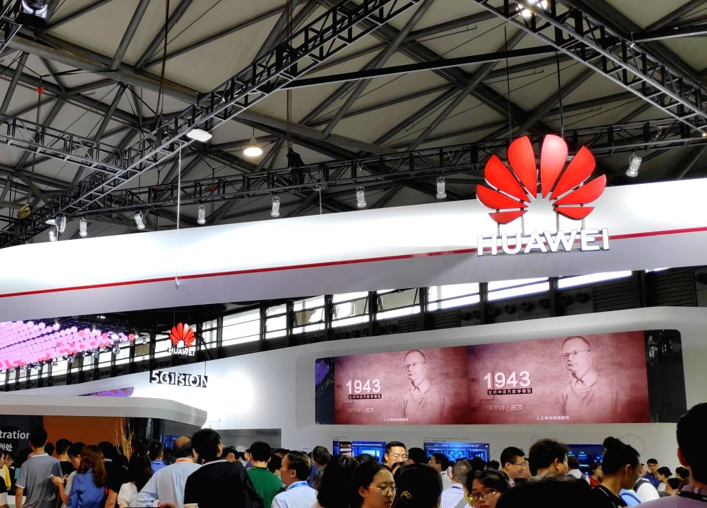 Huawei. (File Photo: IANS)