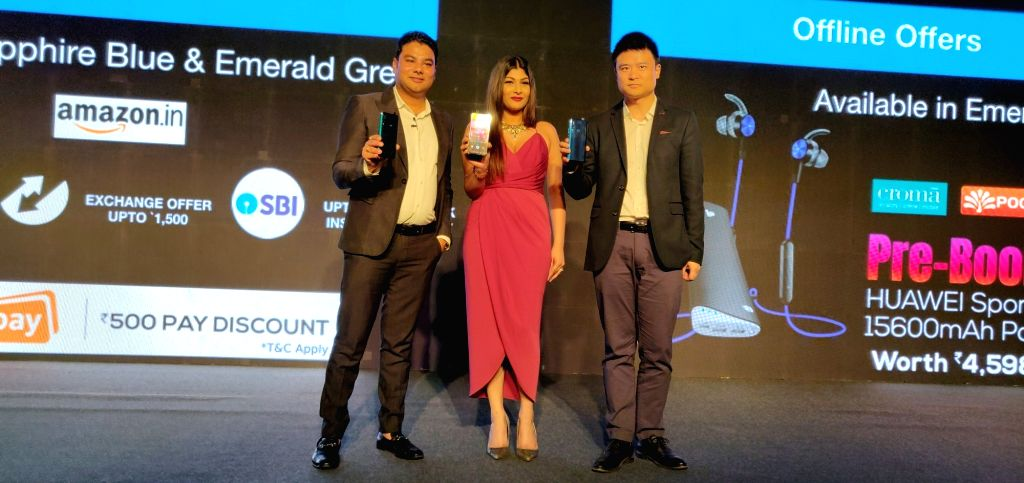 Launch of Huawei Y9 Prime 2019