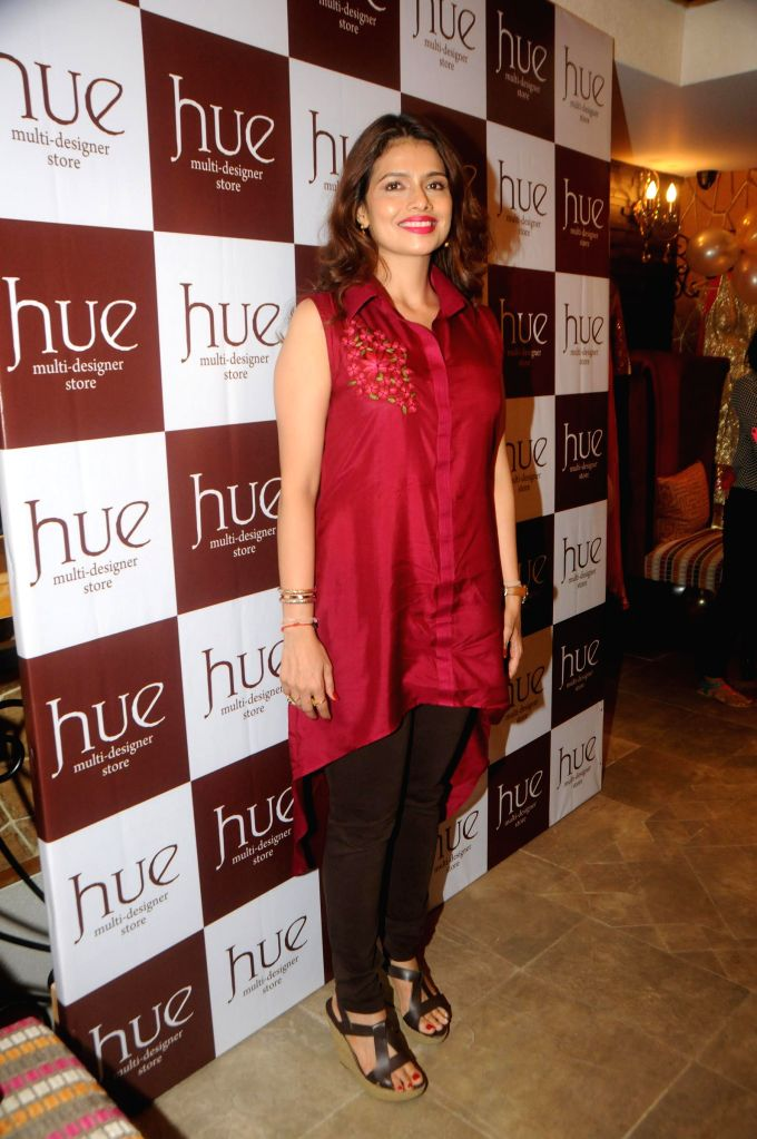 Hue`s Winter Festive 2014 Collection preview at their new store in Hughes Road along with designers Shruti Sancheti and Ritika Mirchandani on Thursday, August 7, 2014. Celebs who attended the event .. - Shah