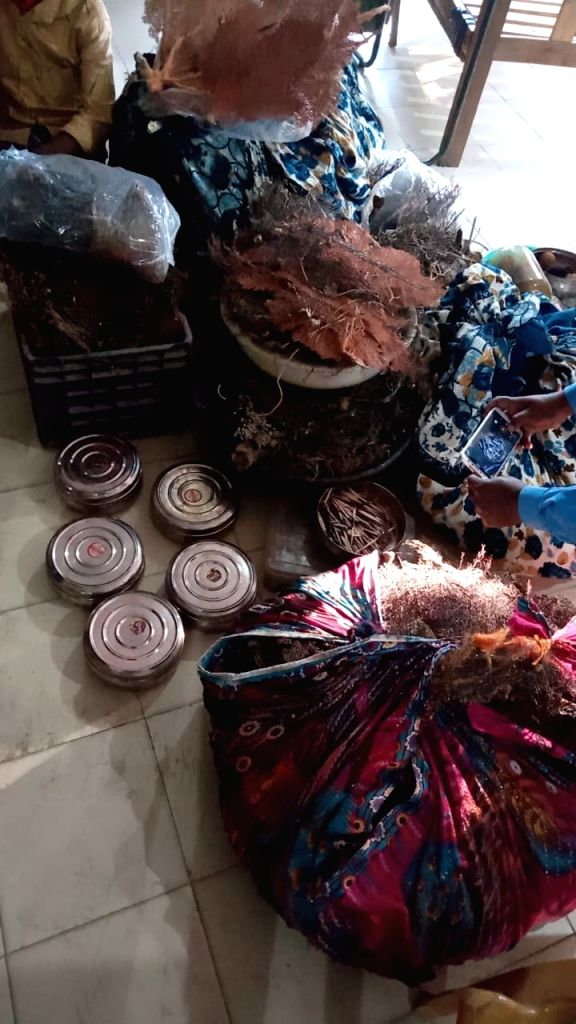 Huge quantities of smuggled marine life products seized in Guwahati, 3 held.
